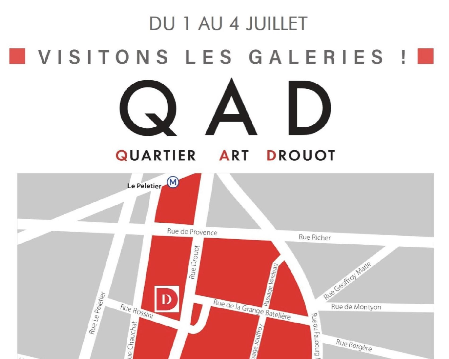 Artistes divers, Quartier Art Drouot I Visit the galleries!